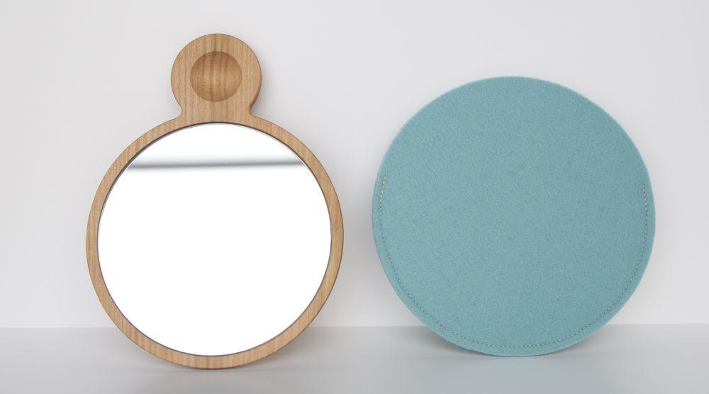 hand mirror-sakura