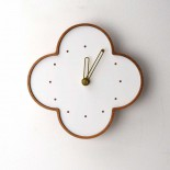 wall clock L-sakura-w